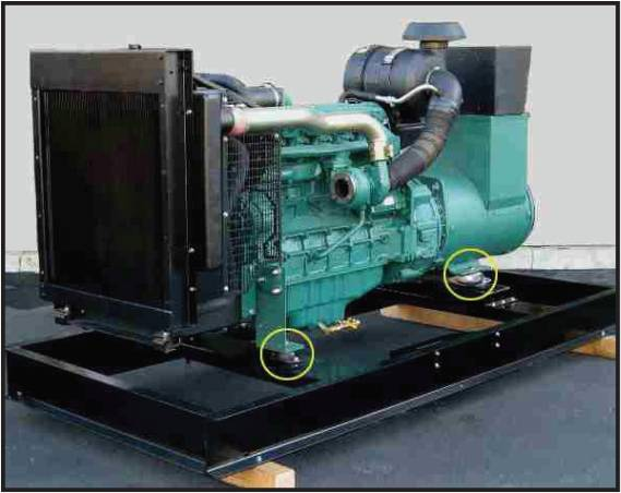 Diesel Generator Mounts Anti Vibration Rubber Mounts