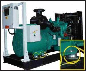 Generator-rubber-mountings-Anti-Vibration-rubber-metal-mounts