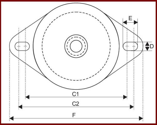 Vibration-mounts-EGA-60-150-Dimension-2
