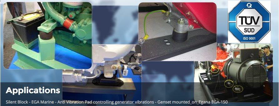 Anti Vibration Mounts and Rubber Pads