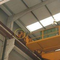 overhead crane buffer